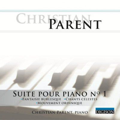 pochette suite pour piano no.1